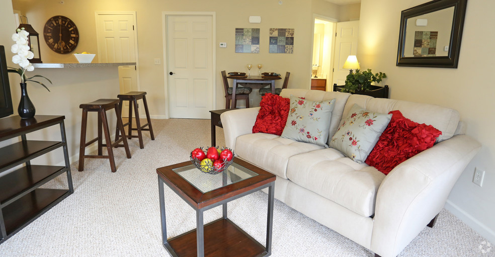 Spacious Living Rooms at Lehigh Park Apartments in Henrietta, NY