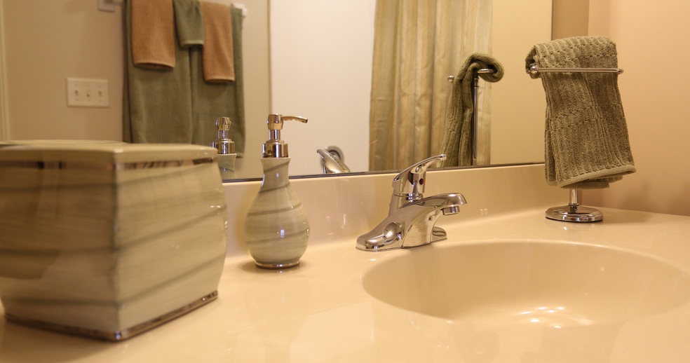 En Suite Bathrooms at Lehigh Park Apartments in Henrietta, NY