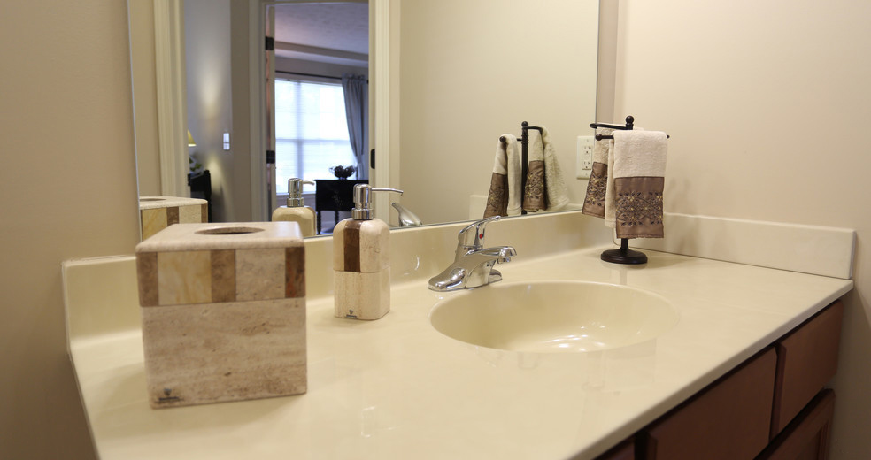 Spacious Vanities at Lehigh Park Apartments in Henrietta, NY