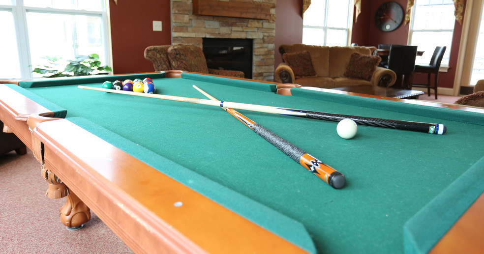 Game Room at Lehigh Park Apartments in Henrietta, NY