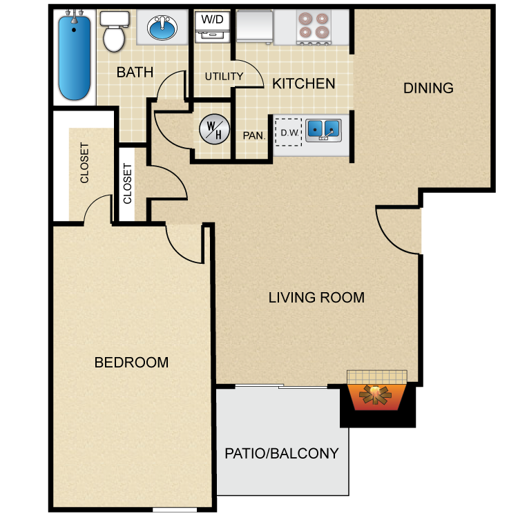 Apartments In Grand Prairie Tx Under 700: 1,2 Bedroom Apartments For Rent In Grand Prairie, TX