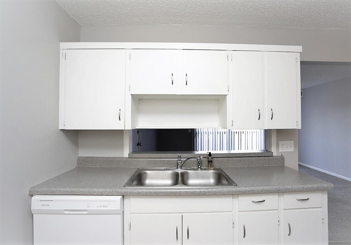 Double Kitchen Sink at Liberty View Apartments in Liberty, MO
