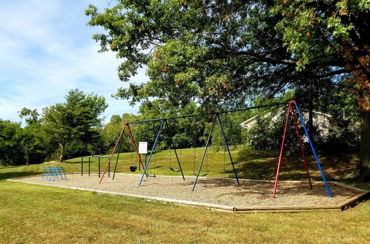 Children's Playground at Liberty Heights Apartments in Liberty, MO