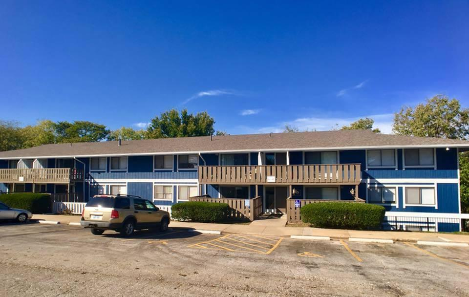 Ample Parking at Liberty View Apartments in Liberty, MO