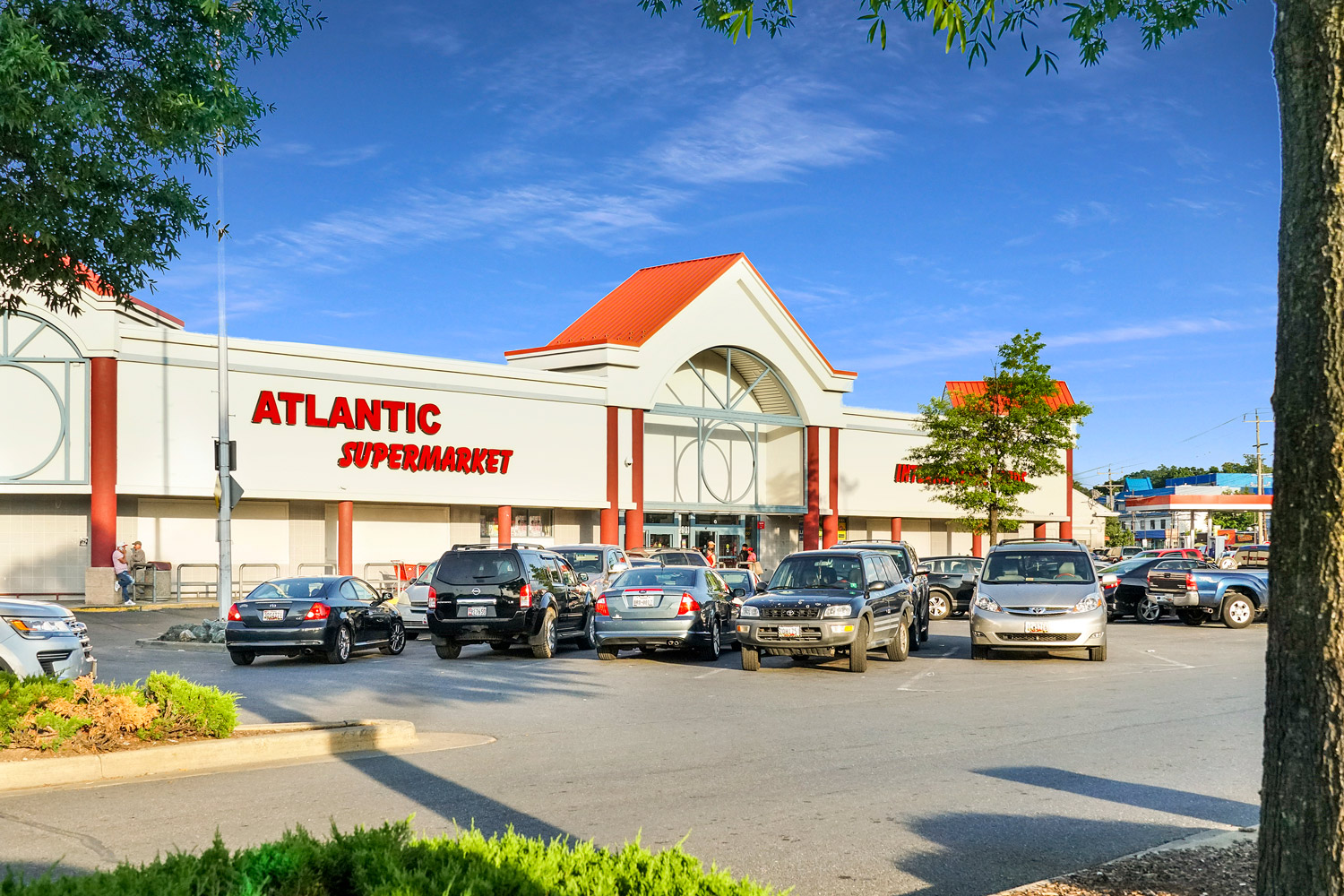 Atlantic Supermarket next to Liberty Place Apartments in Langley Park, MD