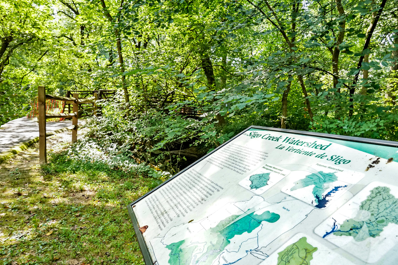 Sligo Creek Park is 5 minutes from Liberty Place Apartments