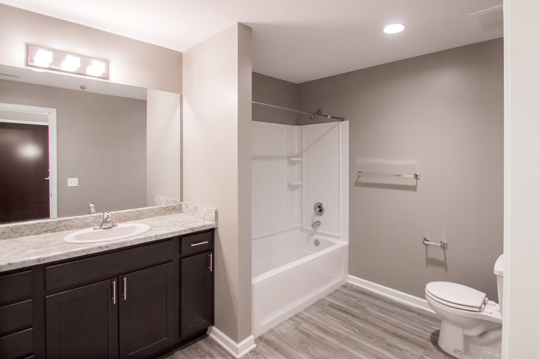 Updated Bathrooms at Limelight at Sixteenth Apartments in Omaha, NE