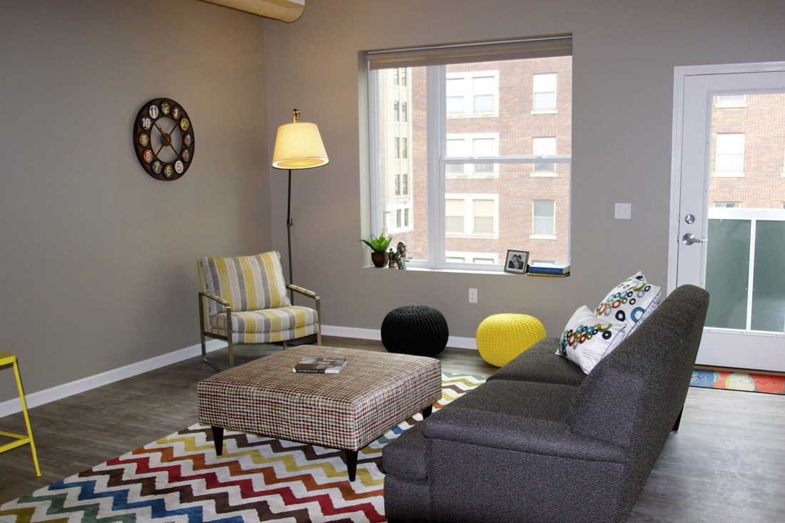 Furnished Apartments Available at Limelight at Sixteenth Apartments in Omaha, NE