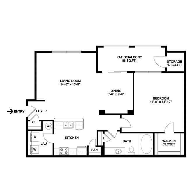 Limestone - Floorplan - A2
