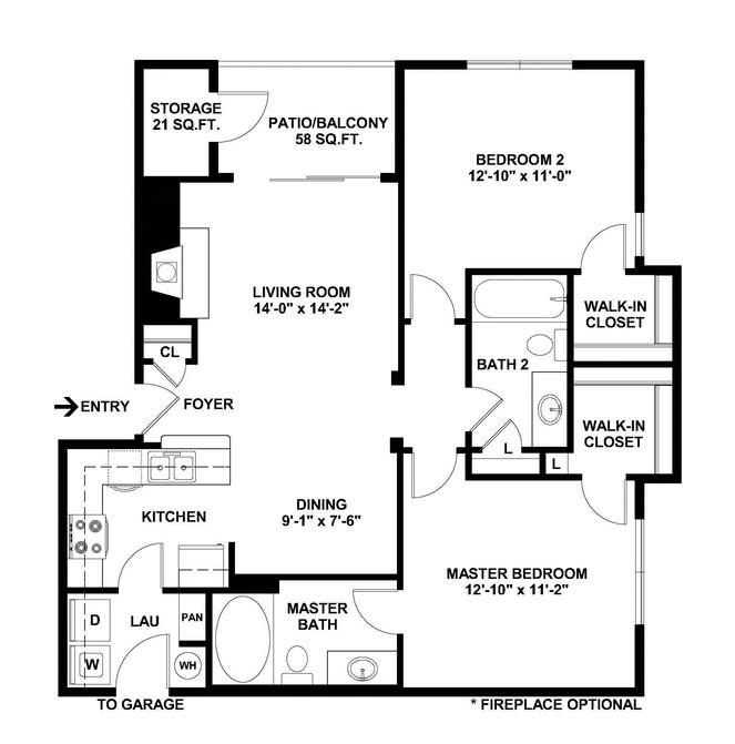 Limestone - Floorplan - B5