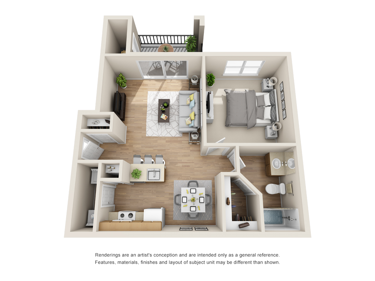 The Link - Floorplan - A1