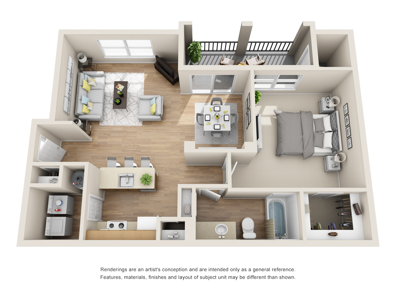 The Link - Floorplan - A2