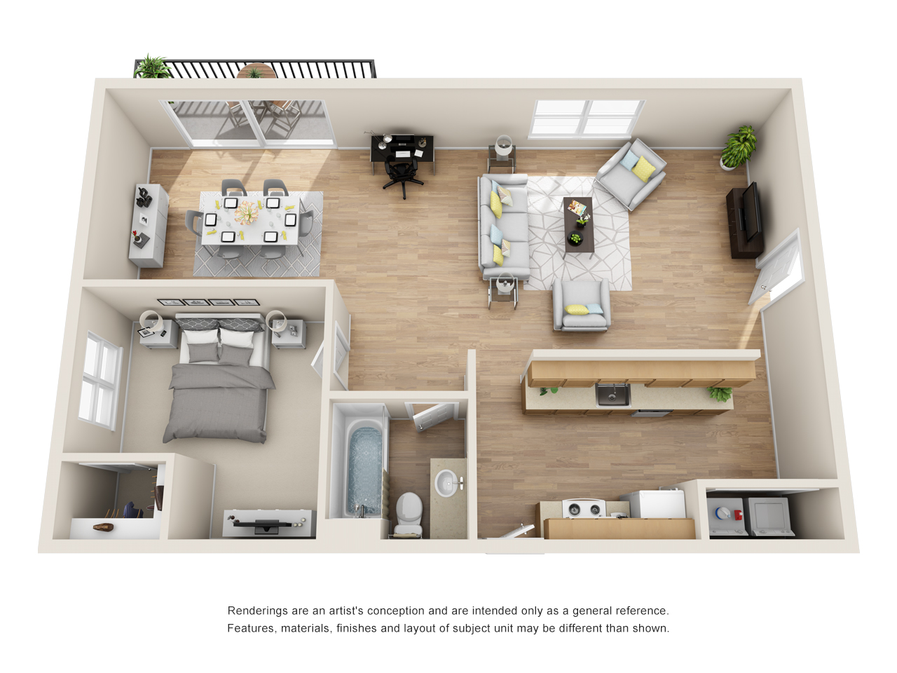 The Link - Floorplan - A3