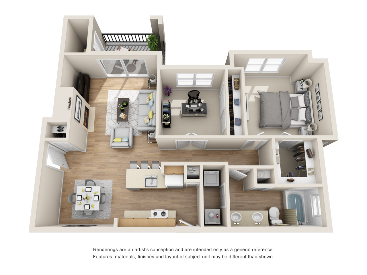 The Link - Floorplan - AD1