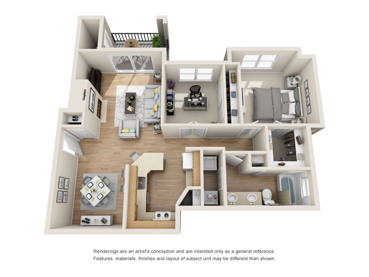 The Link - Floorplan - AD2