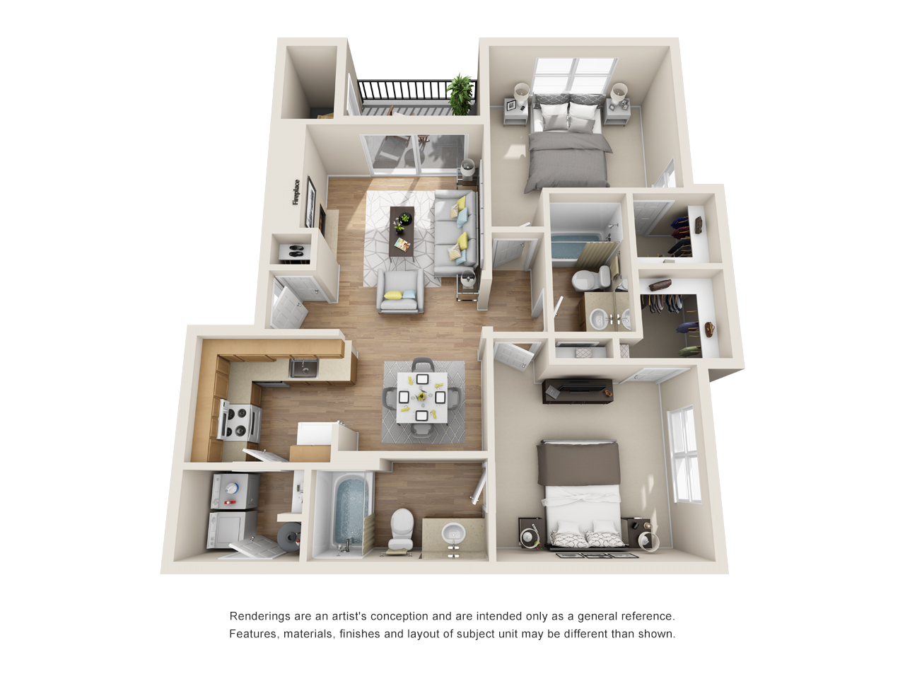 The Link - Floorplan - B2