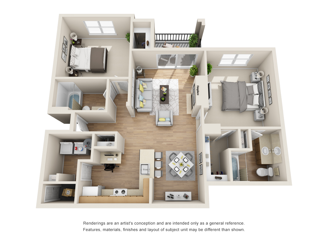 The Link - Floorplan - B4
