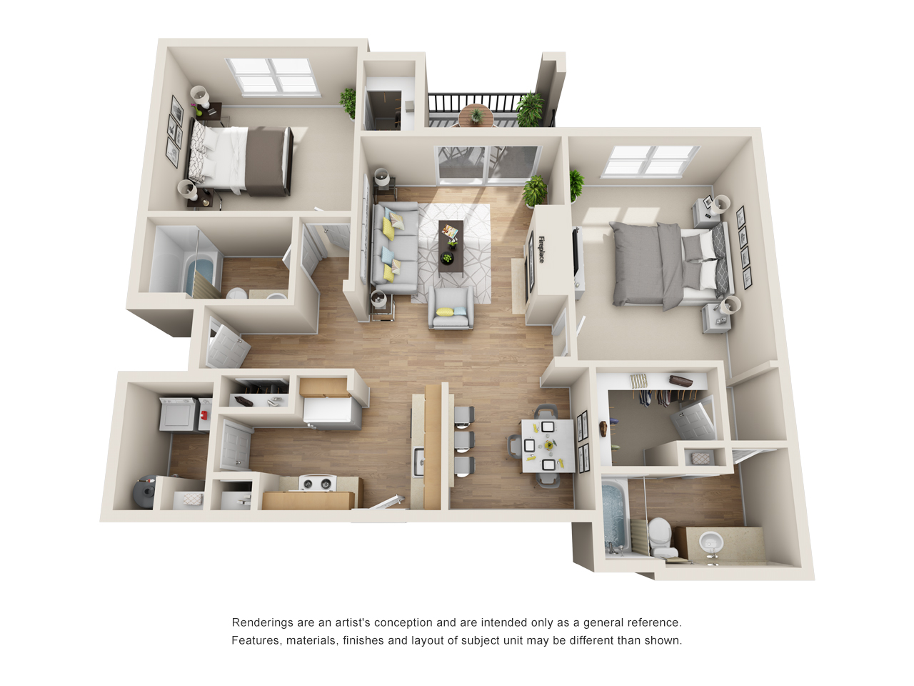 The Link - Floorplan - B5