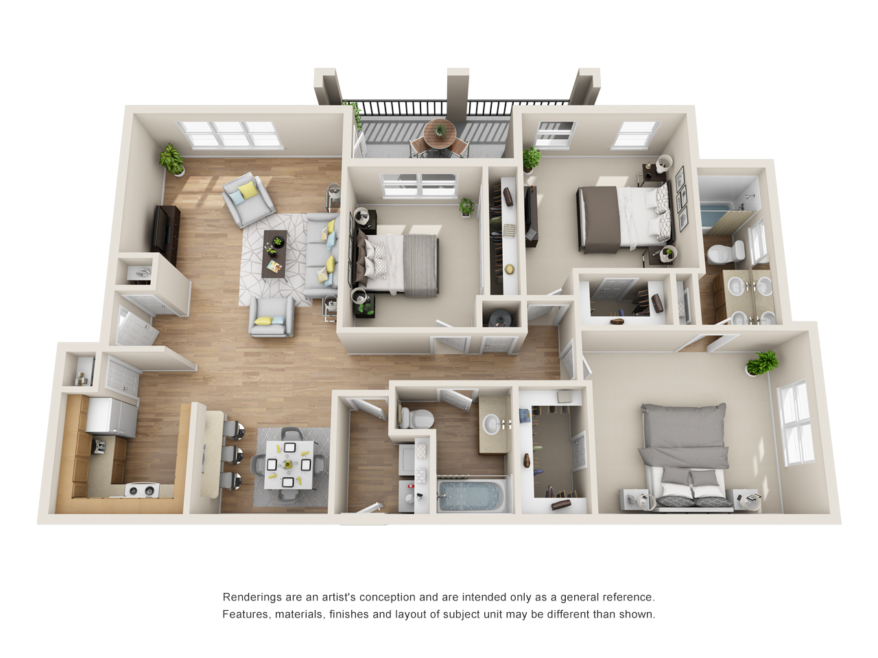 The Link - Floorplan - C1