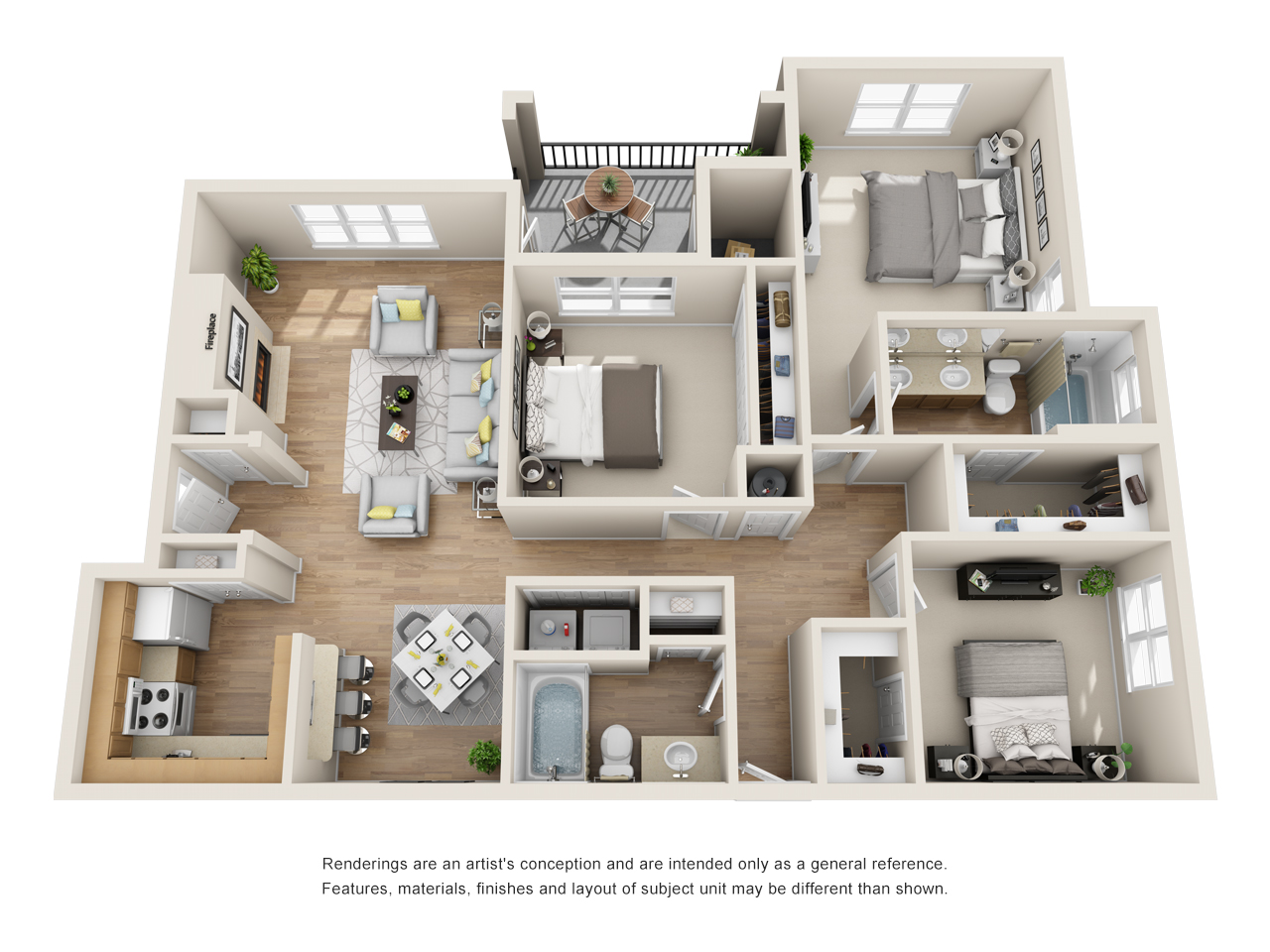 The Link - Floorplan - C3