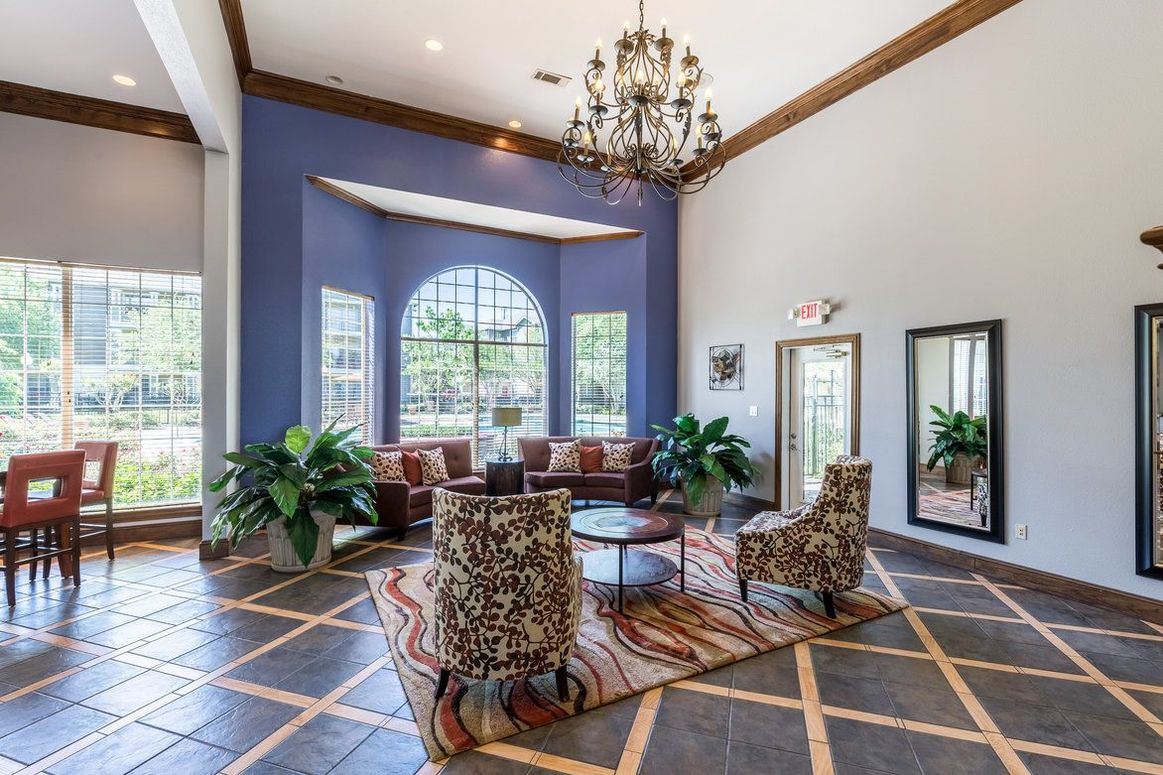 Resident Clubhouse at Limestone Apartments in Houston, Texas