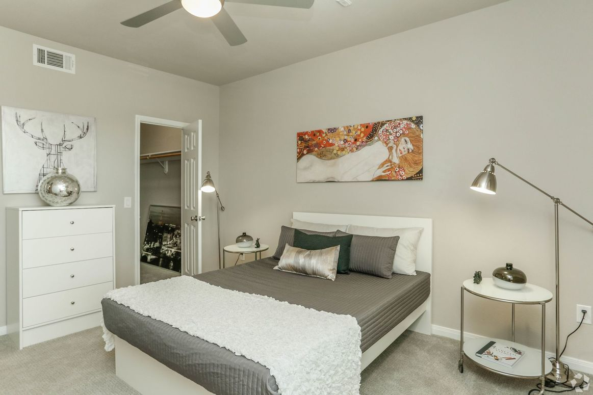 Walk-In Closets at Limestone Apartments in Houston, Texas