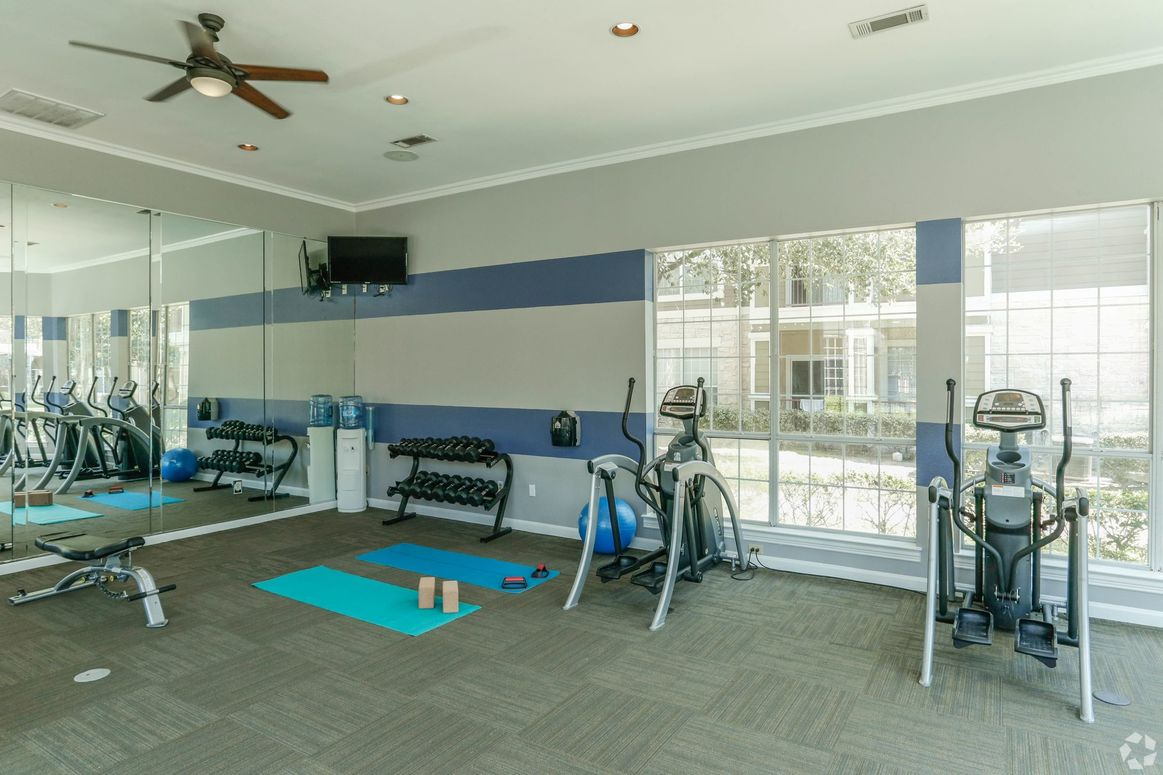 On-Site Fitness Center at Limestone Apartments in Houston, Texas
