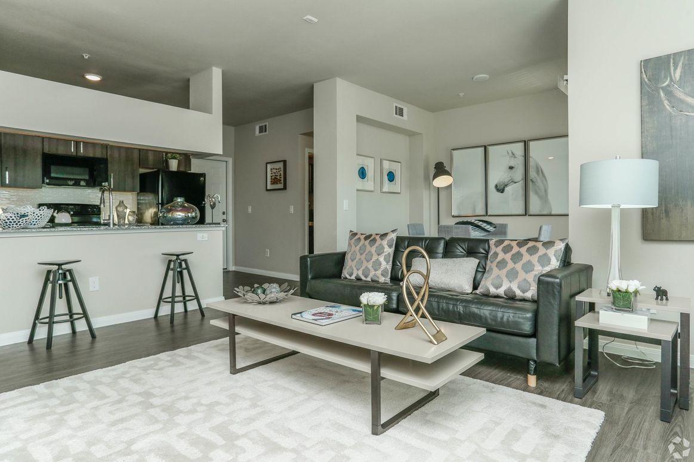 Modern Interiors at Limestone Apartments in Houston, Texas