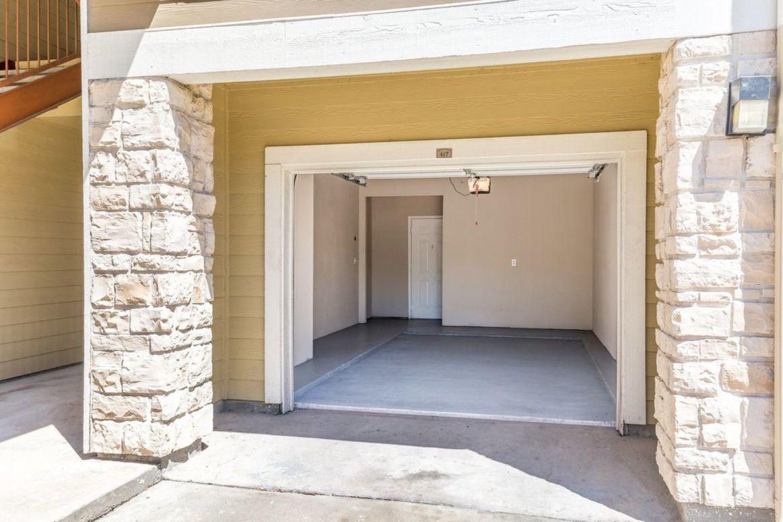 Garage Parking at Limestone Apartments in Houston, Texas