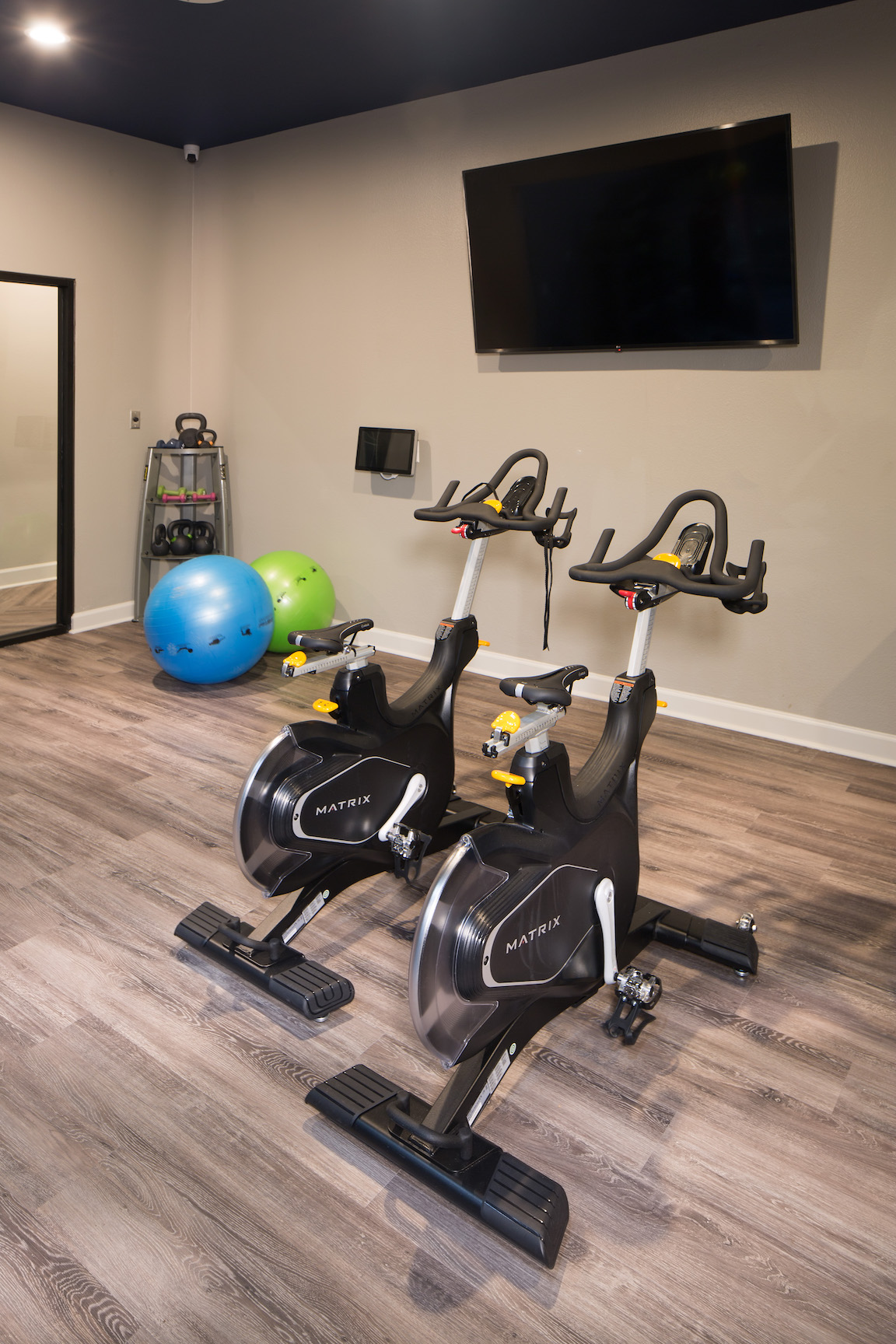 On-Site Gym at The Link, a Community of Luxury Apartments in Houston, Texas