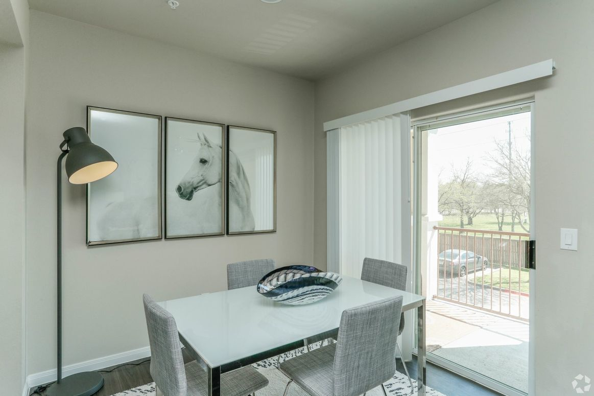 Private Patio, Deck or Balcony at Limestone Apartments in Houston, Texas