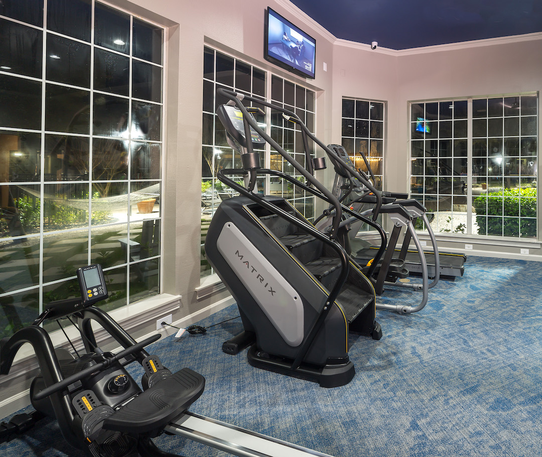 Cardio Equipment at The Link, a Community of Luxury Apartments in Houston, Texas