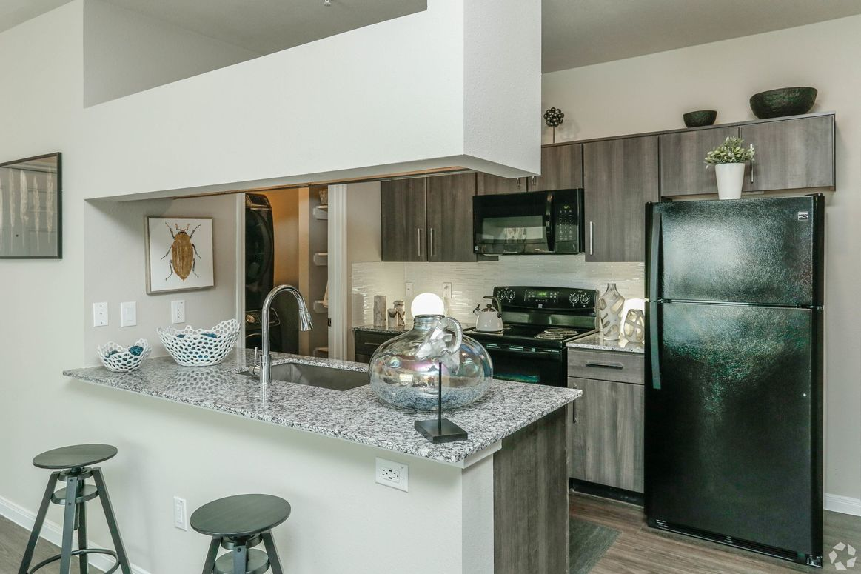 Open Kitchen at Limestone Apartments in Houston, Texas