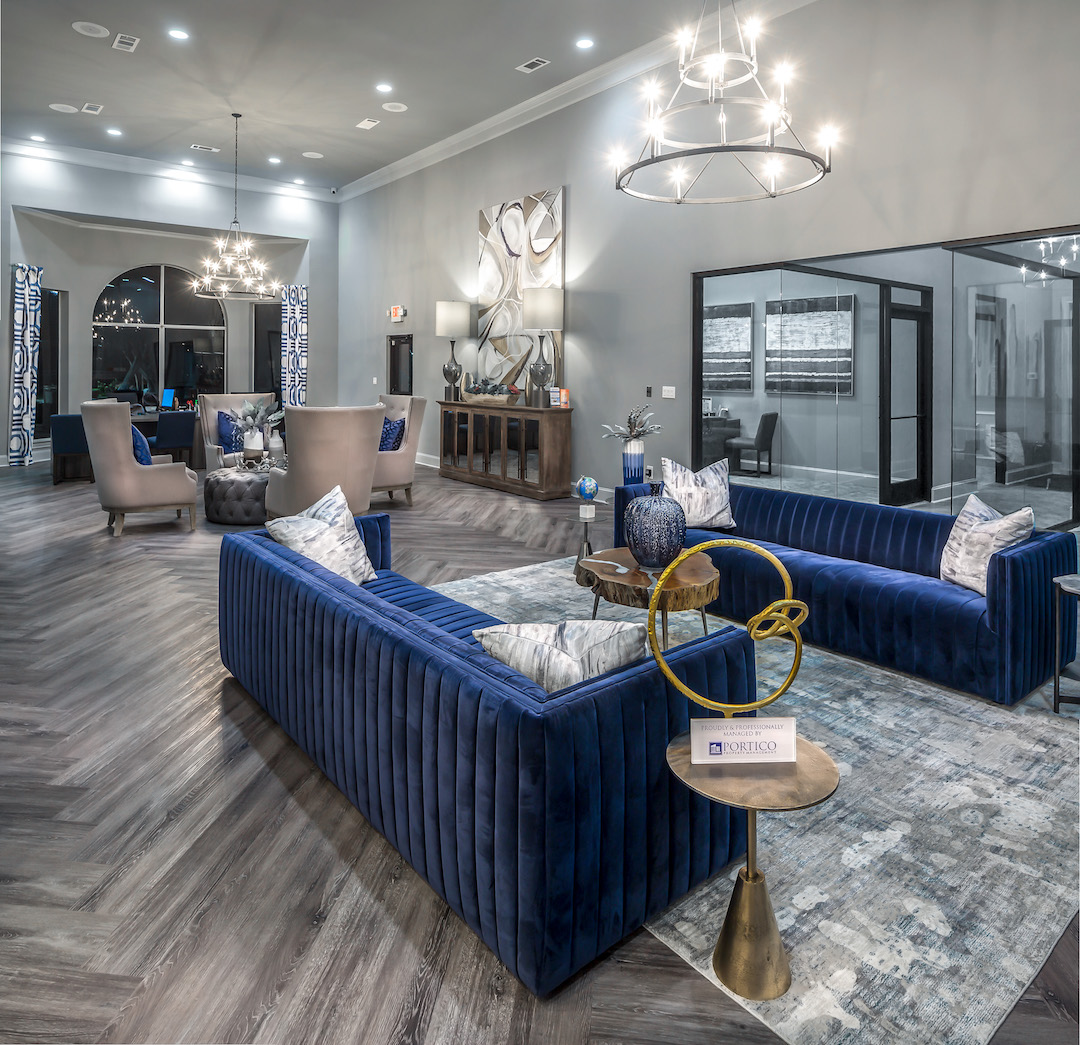 Stylish Interiors at The Link, a Community of Luxury Apartments in Houston, Texas