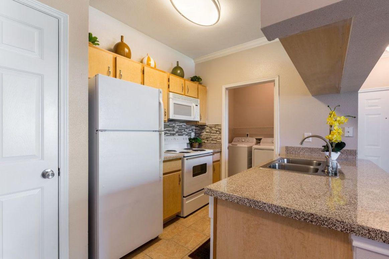 Kitchen Pantry at Limestone Apartments in Houston, Texas