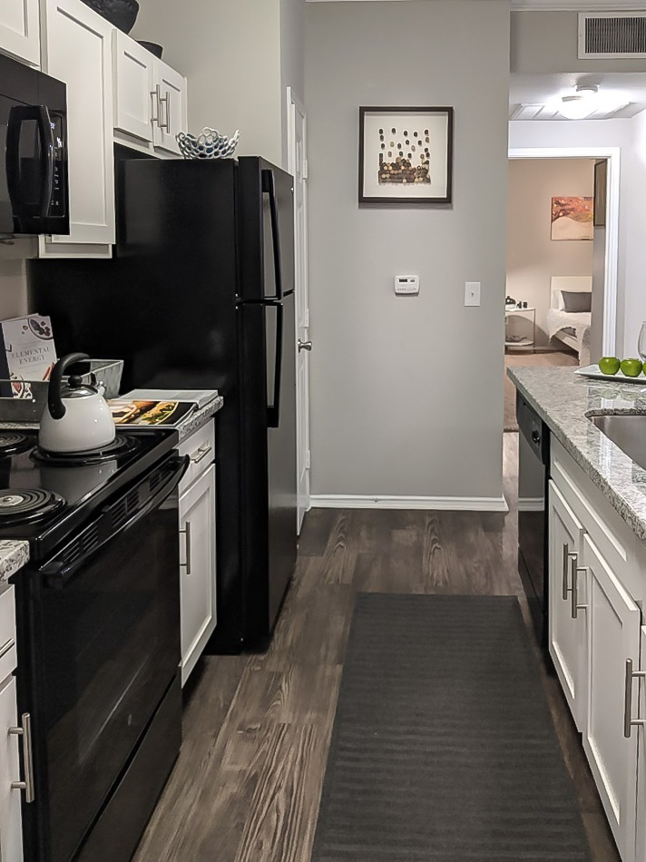 Fully-Equipped Kitchens at The Link, a Community of Luxury Apartments in Houston, Texas