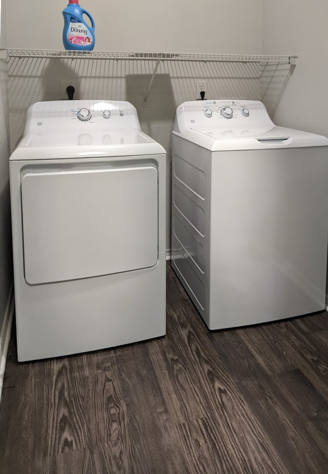 Laundry Appliances at The Link, a Community of Luxury Apartments in Houston, Texas