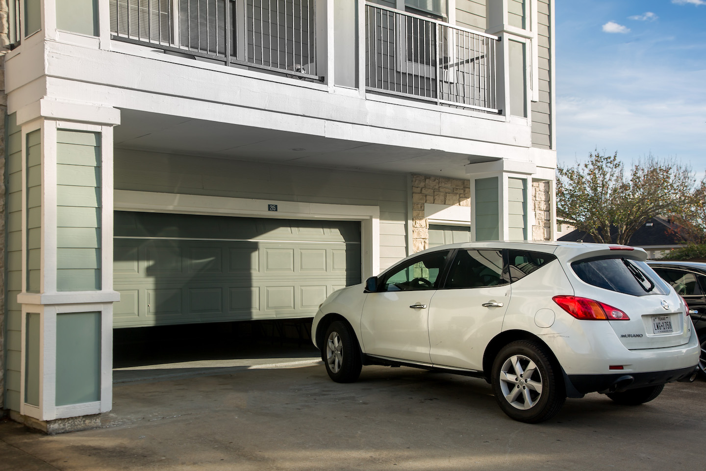 Attached Garages at The Link, a Community of Luxury Apartments in Houston, Texas