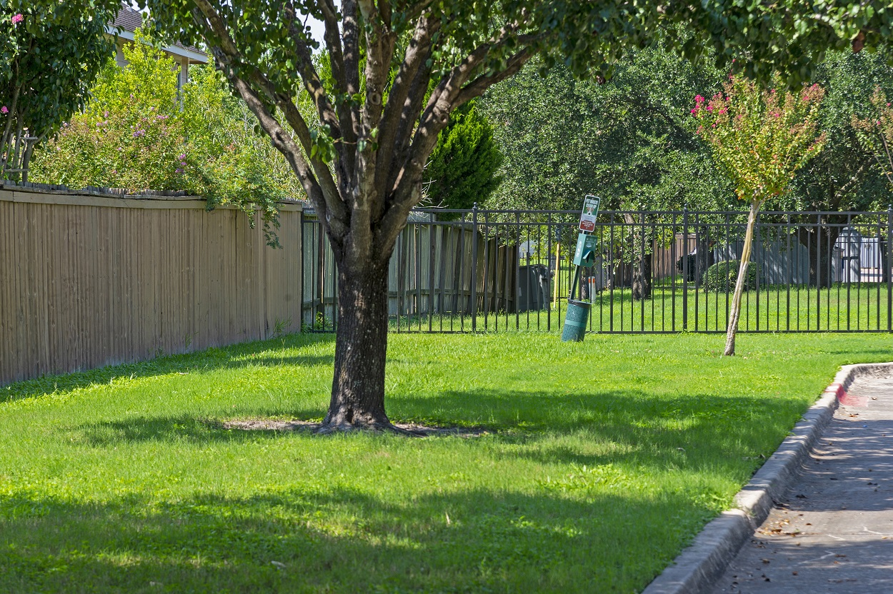 Lush Landscaping at The Link Apartments in Houston, Texas