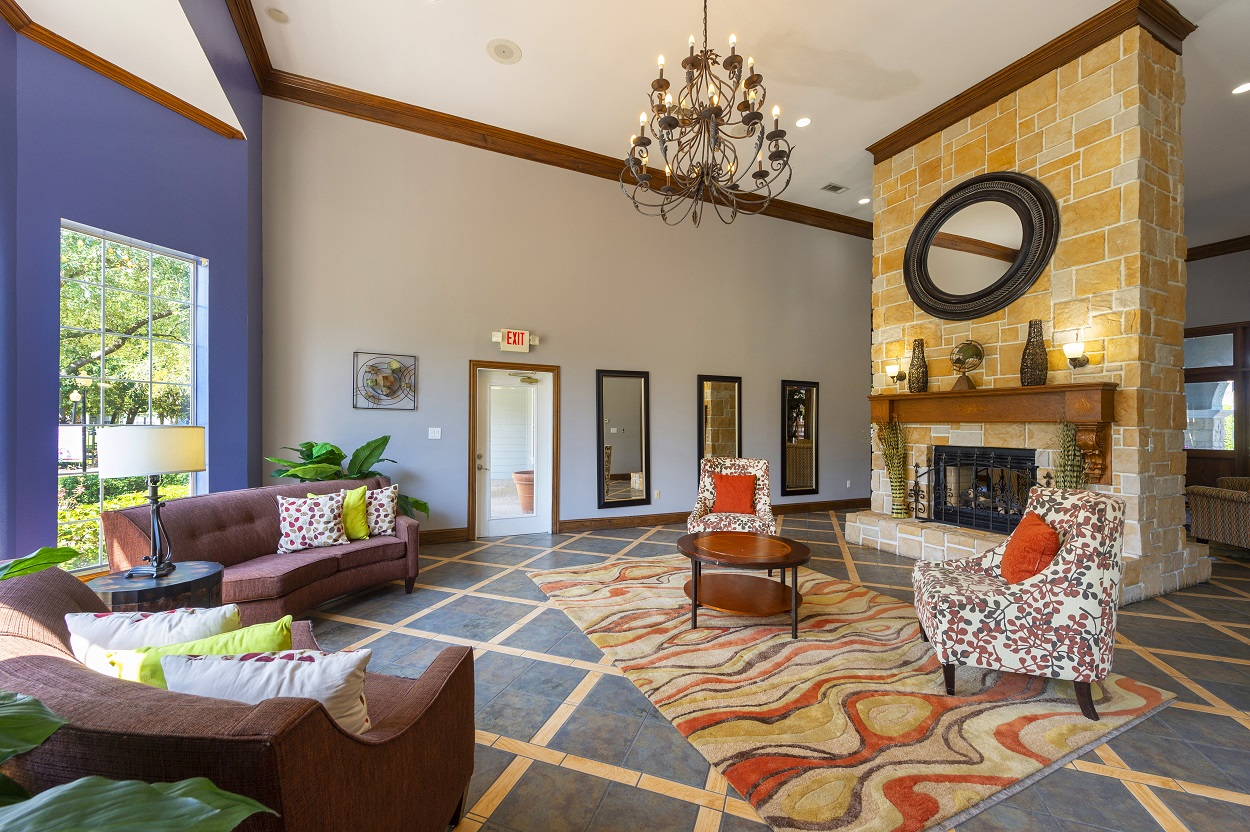 Warm Color Scheme with Modern Touches at The Link Apartments in Houston, Texas