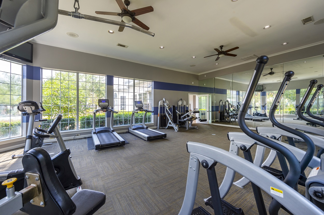 Cardio Equipment at The Link Apartments in Houston, Texas