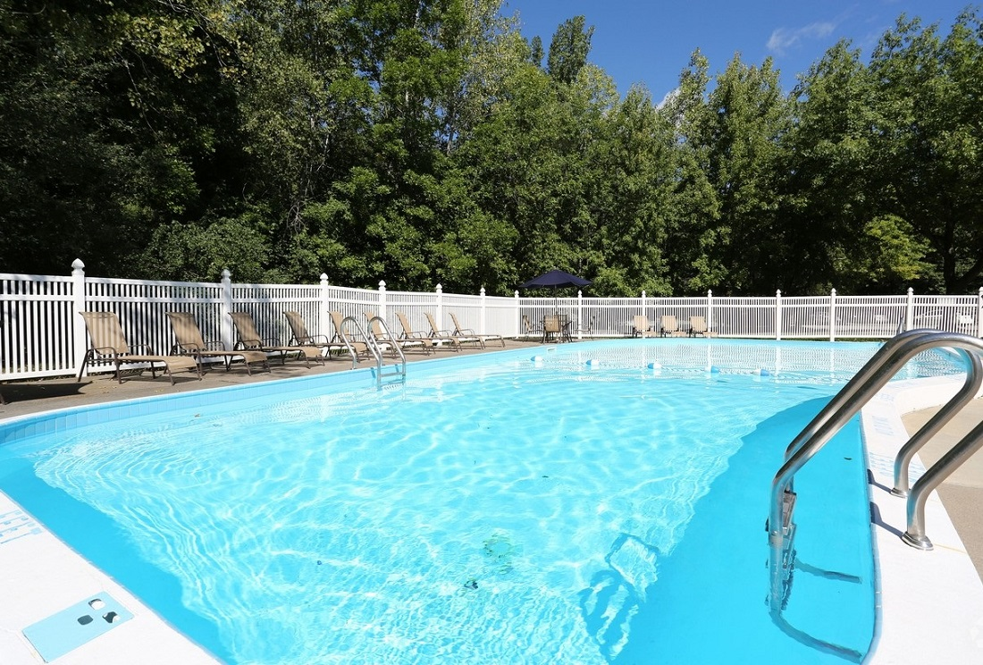 Sparkling Pool at the Little Creek Garden Apartments in Rochester, NY