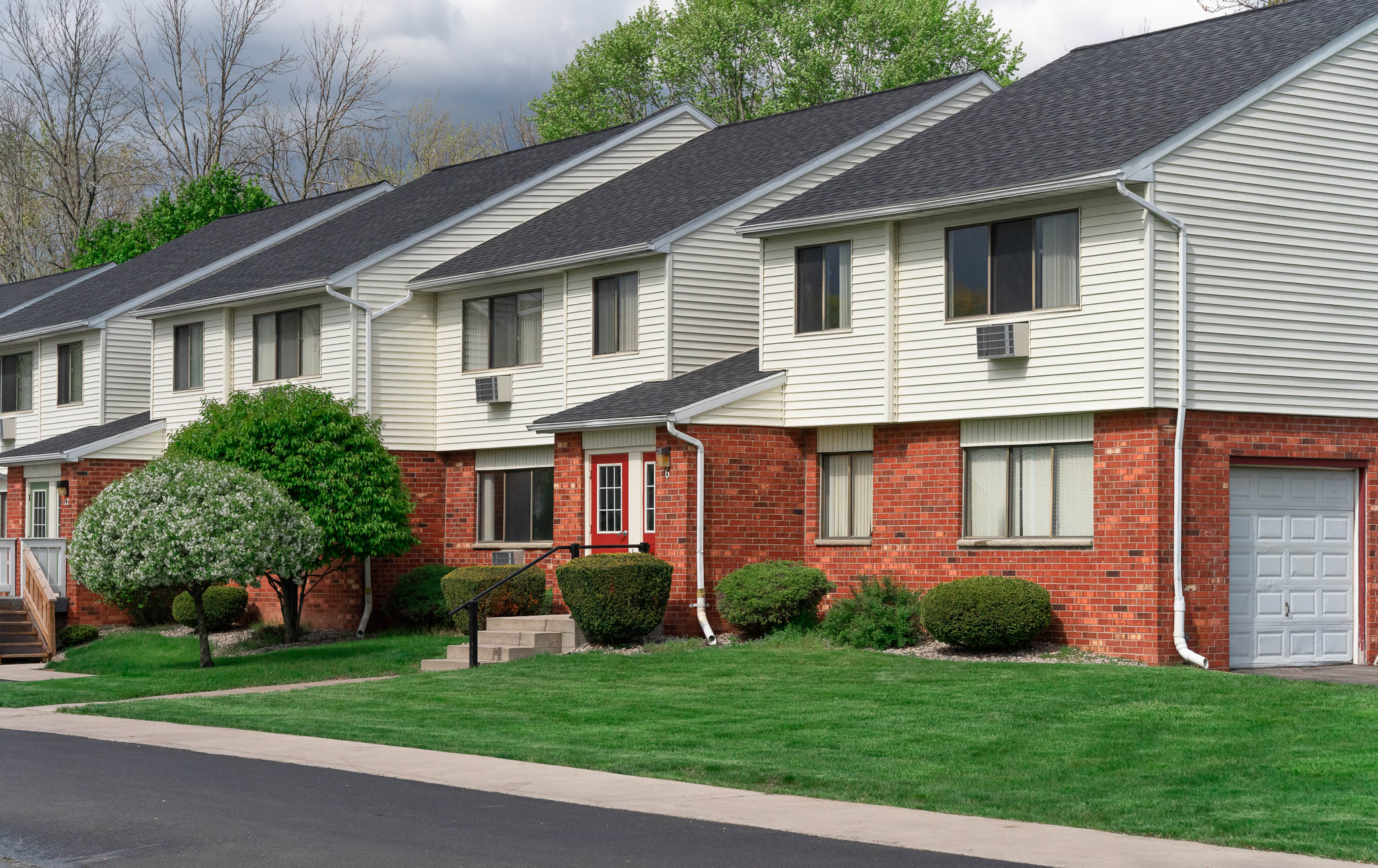 Exterior View at the Little Creek Apartments in Rochester, NY