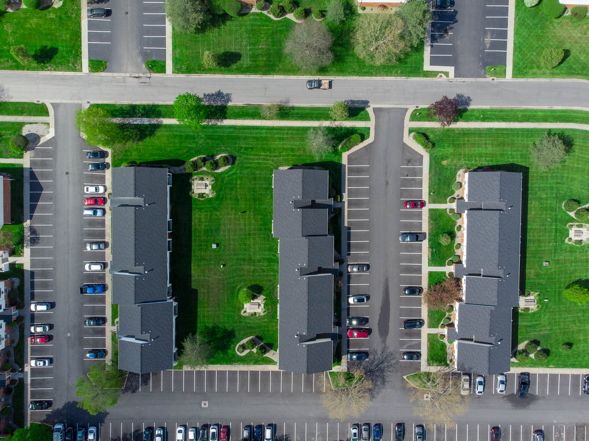 Birds Eye View at the Little Creek Apartments in Rochester, NY