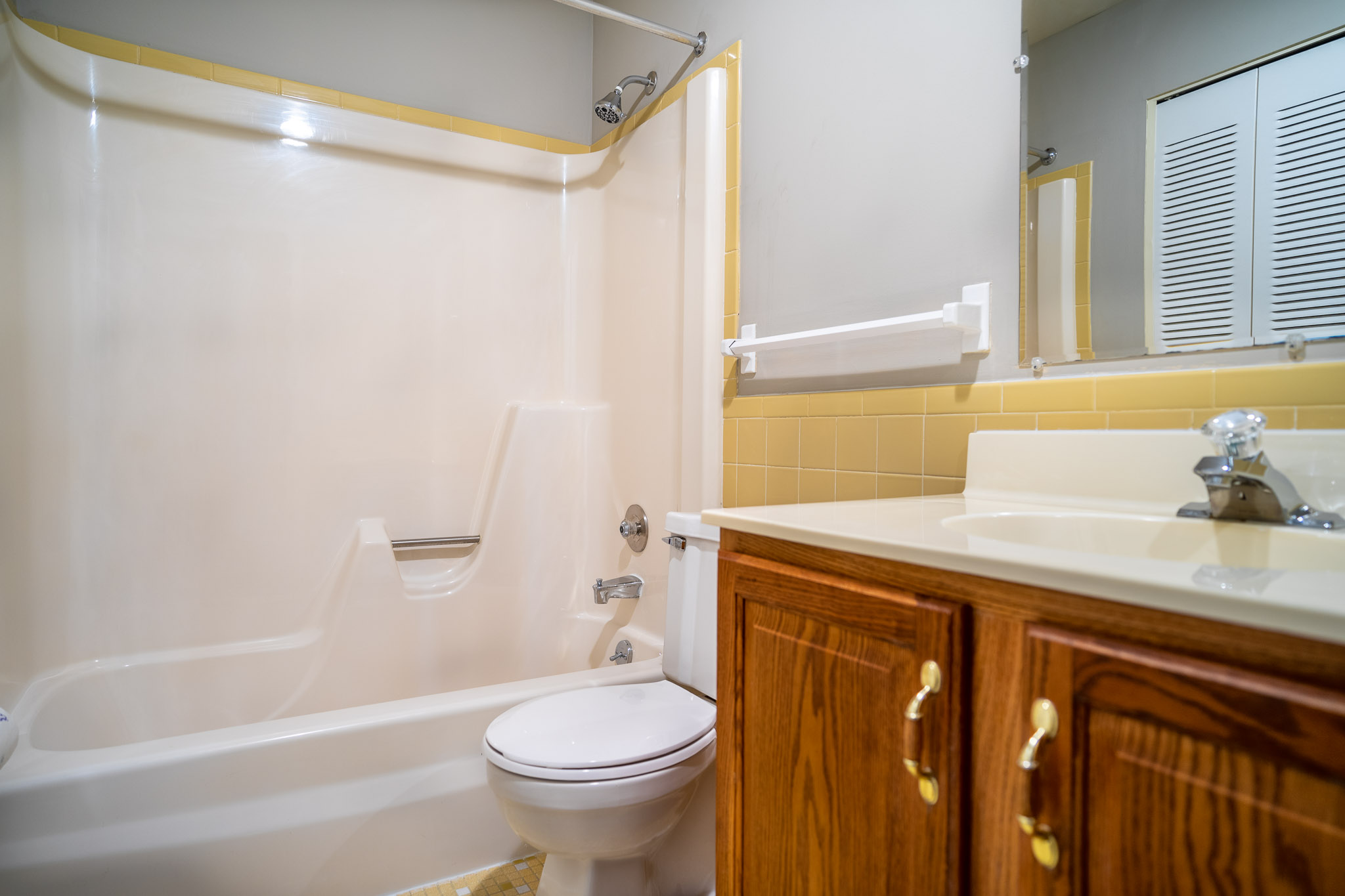 Bathroom at the Little Creek Apartments in Rochester, NY