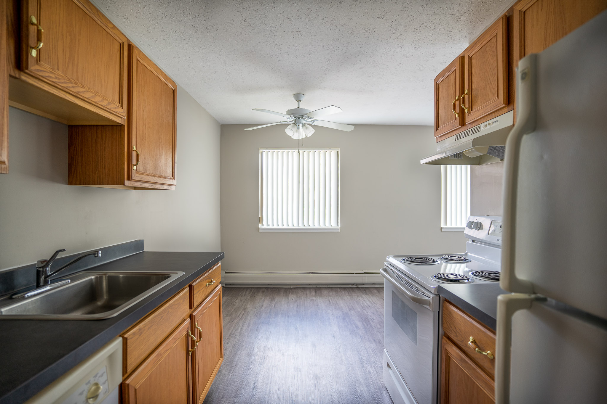 Kitchen at the Little Creek Apartments in Rochester, NY