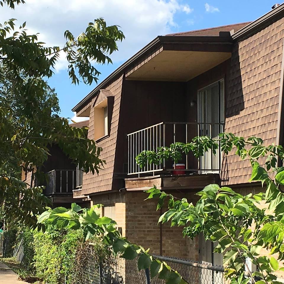 Private Balcony at Live Oak Apartments in Huntsville, Texas