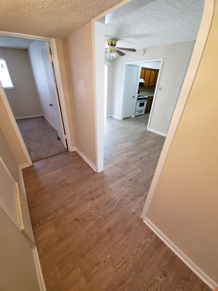 Two Bedroom Apartments  at Live Oak Apartments in Huntsville, Texas