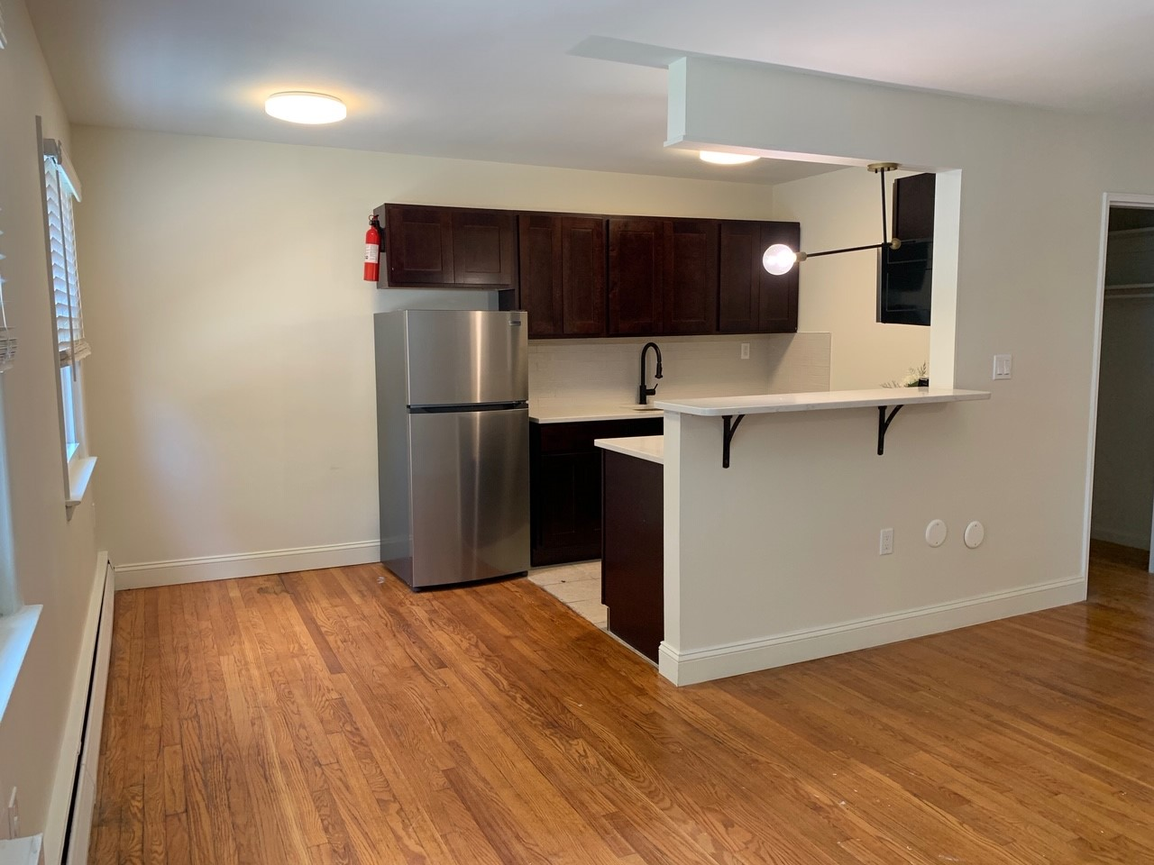 Spacious Kitchen at Livingston Gardens Apartments in North Brunswick Township, New Jersey