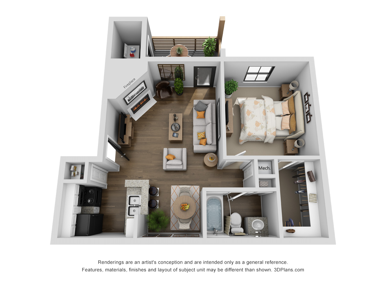 Lofton Place - Floorplan - Lenox